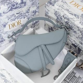 クリスチャンディオール(Christian Dior)のChristian Dior サドル バック ストラップ付き ショルダーバッグ(ショルダーバッグ)