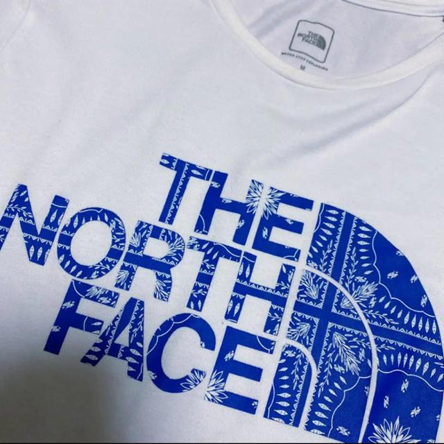 THE NORTH FACE(ザノースフェイス)のノースフェイス バンダナTEE レディースのトップス(Tシャツ(半袖/袖なし))の商品写真