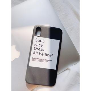 ディーホリック(dholic)のシンプルボックスロゴiPhoneケース(iPhoneケース)