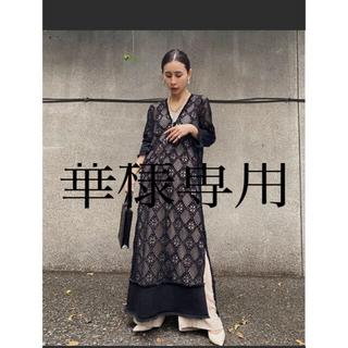 アメリヴィンテージ(Ameri VINTAGE)のAmeri vintage☆ GEOMETRY LACE DRESS(ロングワンピース/マキシワンピース)