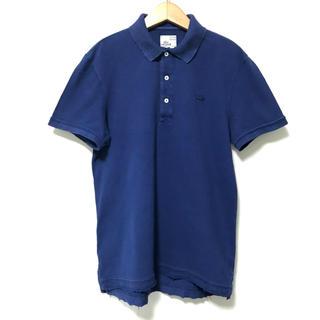 ラコステ(LACOSTE)の定1.3万 フレンチラコステ Vintage Washed加工半袖ポロシャツ3(ポロシャツ)