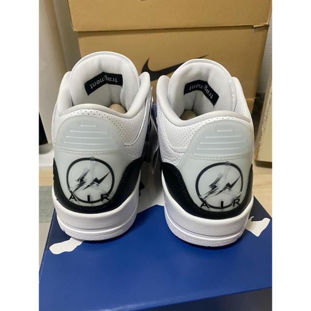 NIKE(ナイキ)のFragment x Nike Air Jordan 3  27.5cm メンズの靴/シューズ(スニーカー)の商品写真