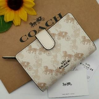 COACH - 新品COACH(コーチ)の二つ折り財布   87936