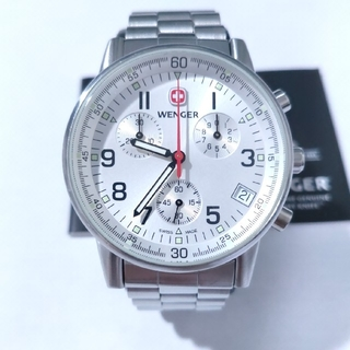 ウェンガー(Wenger)のWENGER 腕時計 コマンドクロノ70827(腕時計(アナログ))