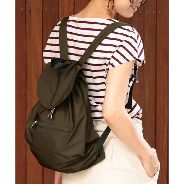 BEAUTY&YOUTH UNITED ARROWS(ビューティアンドユースユナイテッドアローズ)の BY∴ ポケッタブルリュック  レディースのバッグ(リュック/バックパック)の商品写真