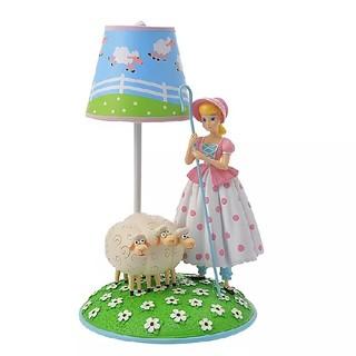 ディズニー(Disney)のディズニーストア トイストーリー ボーピープの羊 ボーピープ ランプ(テーブルスタンド)