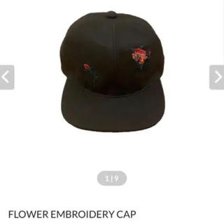 ttt_msw flower embroidery cap