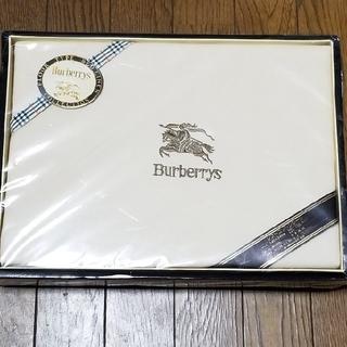 BURBERRY - 難あり! バーバリー ソフトコットンシーツ