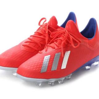 adidas - adidas サッカースパイク25.5 エックス 18.2 HGAG