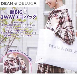 DEAN & DELUCA - 《人気!》ゼクシィ 11月号 付録 エコバッグ♪
