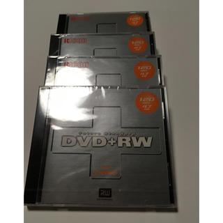 リコー(RICOH)のDVD+RW 3枚(+開封品1枚)(DVDレコーダー)