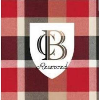 BURBERRY BLUE LABEL - ブルーレーベルクレストブリッジ オレンジブラウンチェック スカート