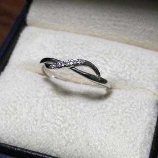 ヴァンドームアオヤマ(Vendome Aoyama)のヴァンドーム アオヤマ K18 WG ダイヤモンド リング(7号)(リング(指輪))
