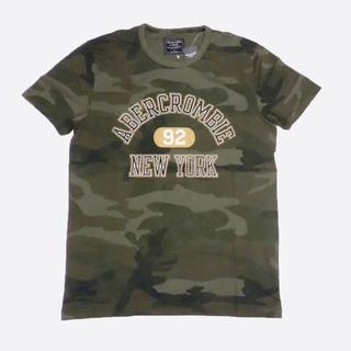 Abercrombie&Fitch - ★新品★アバクロンビー&フィッチ★カモフラ柄半袖Tシャツ (Camo/S)