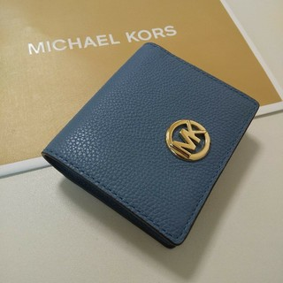 マイケルコース(Michael Kors)の新品 MICHAEL KORS マイケルコース 折り財布(財布)