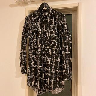 ブラックコムデギャルソン(BLACK COMME des GARCONS)の18aw ブラックコムデギャルソン ロングシャツ M(シャツ)