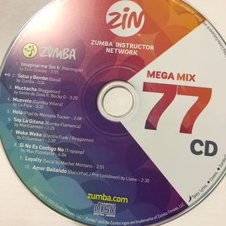ズンバ MEGAMIX77  CD
