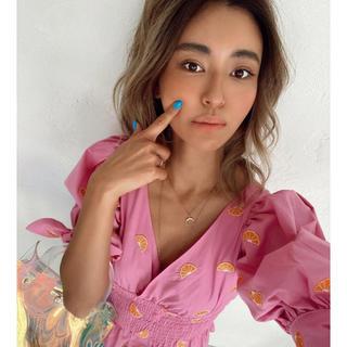 アリシアスタン(ALEXIA STAM)のALEXIASTAM puff sleeve top (シャツ/ブラウス(長袖/七分))
