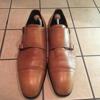 THE SUIT COMPANY - ビジネスシューズ、ストレートチップ、革靴、27cm、美品、靴底有り、日本製