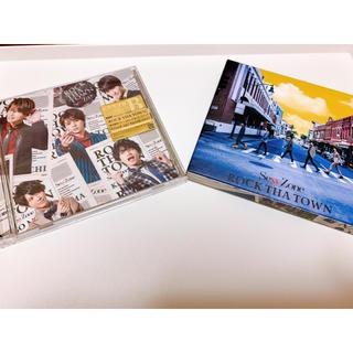 セクシー ゾーン(Sexy Zone)のSexyZone シングル ROCK THE TOWN 初回限定盤A B(ポップス/ロック(邦楽))