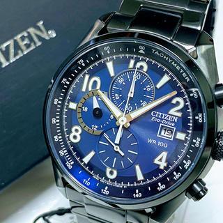 CITIZEN - ◆激レア◆並行輸入◆シチズン◆エコドライブ◆メンズ◆黒◆腕時計