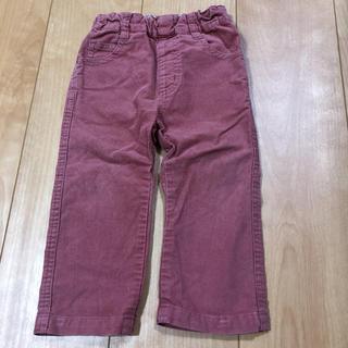 ムジルシリョウヒン(MUJI (無印良品))の無印良品 コーデュロイ パンツ ピンク 80(パンツ)