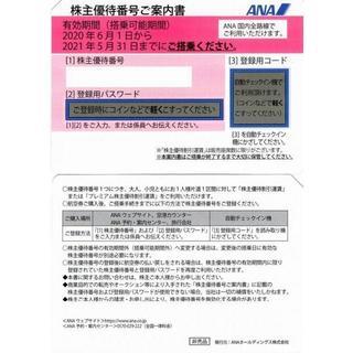 ☆2枚 ANA 全日空 株主優待券(株主優待番号ご案内書)