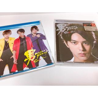 セクシー ゾーン(Sexy Zone)のSexyZone 男 never give up 限定盤2種&限定ミラー(ポップス/ロック(邦楽))