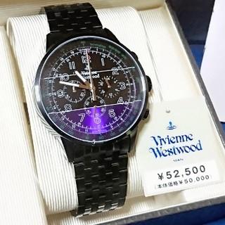 ヴィヴィアンウエストウッド(Vivienne Westwood)の■未使用 訳あり■Vivienne Westwood クロノグラフ腕時計 稼働品(腕時計(アナログ))