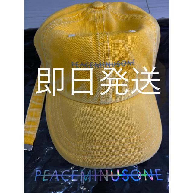 PEACEMINUSONE(ピースマイナスワン)のPeaceminusone PMO VINTAGE COTTON CAP #1 メンズの帽子(キャップ)の商品写真