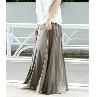 Plage - プラージュ Fibril ギャザーロングスカート  38サイズ Plage