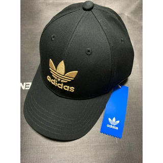 adidas - アディダス キャップ 帽子 正規 新品 送料無料 黒 金