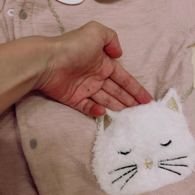 petit main(プティマイン)のpetit main ネコさんポケットロンパース キッズ/ベビー/マタニティのベビー服(~85cm)(ロンパース)の商品写真