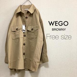 ウィゴー(WEGO)のWEGO BROWNY⭐️新品⭐️ビッグポケットオーバーシャツ(シャツ/ブラウス(長袖/七分))