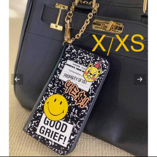 ドゥーズィエムクラス(DEUXIEME CLASSE)の【GOOD GRIEF!】 SMILE patched iphone cover(iPhoneケース)