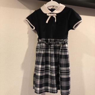 クミキョク(kumikyoku(組曲))のクミキョク ワンピース フォーマル ドレス お受験 100 110(ドレス/フォーマル)