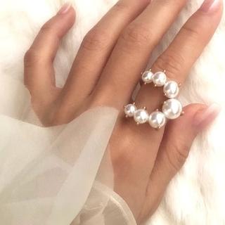 ジルスチュアート(JILLSTUART)の新品 指輪  ゴールド アクセサリー リング ファッション 韓国 ジル(リング(指輪))