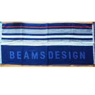 ビームス(BEAMS)の新品 BEAMS DESIGN オリジナルフェイスタオル 綿100%(タオル/バス用品)