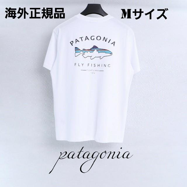 patagonia(パタゴニア)の夏物売り尽くしセール patagonia 半袖Tシャツ ホワイト Mサイズ メンズのトップス(Tシャツ/カットソー(半袖/袖なし))の商品写真