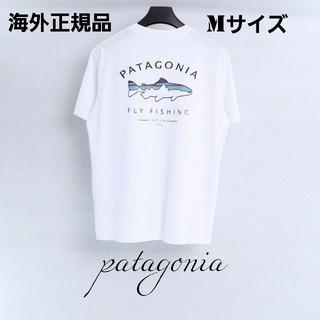 patagonia - 夏物売り尽くしセール patagonia 半袖Tシャツ ホワイト Mサイズ