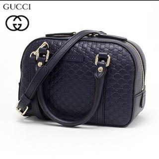 Gucci - GUCCI グッチ マイクログッチシマ 2WAY ハンドバッグ ショルダーバッグ