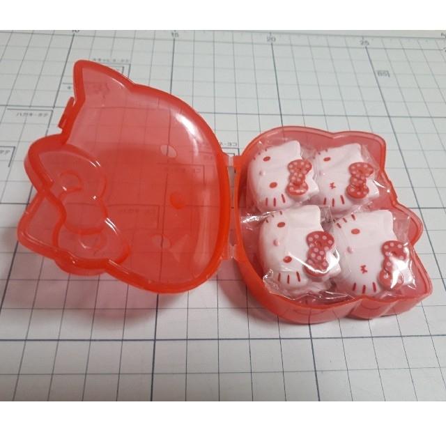 ハローキティ(ハローキティ)のキティ ミニクリップ4個入 エンタメ/ホビーのおもちゃ/ぬいぐるみ(キャラクターグッズ)の商品写真