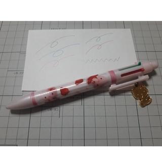 ハローキティ(ハローキティ)のキティ 5色ボールペン+シャープ(ペン/マーカー)