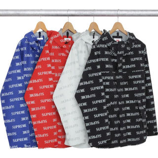 Supreme - 3M Reflective Repeat Taped Seam Jacket
