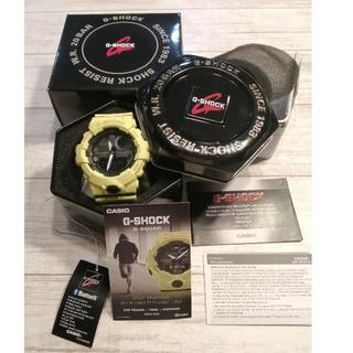 ジーショック(G-SHOCK)のCASIO G-SHOCK 腕時計 GBA-800-9ADR 黄色 Gショック(腕時計(デジタル))