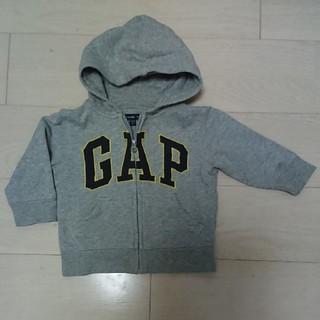 ベビーギャップ(babyGAP)のbabygapパーカー90cm(ジャケット/上着)