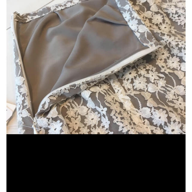 IENA(イエナ)のIENA フレアーフラワーレーススカート 38 レディースのスカート(ロングスカート)の商品写真