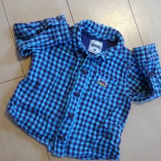 ブランシェス(Branshes)のぱっち様専用☆チェックシャツ☆ブランシェス☆80サイズ(シャツ/カットソー)