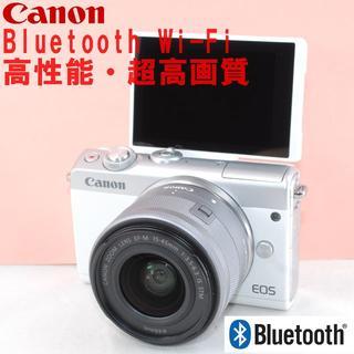 Canon - 美品◆Bluetooth&Wi-Fi 自撮り!超人気★CANON EOS M10