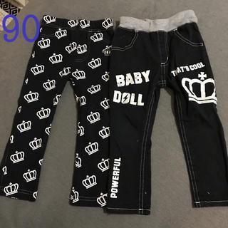 ベビードール(BABYDOLL)のベビードール パンツ セット 90(その他)